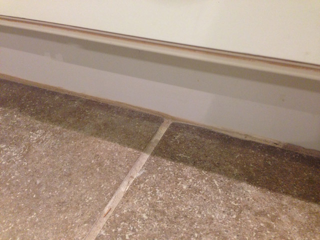 Repair caulk grout and drywall in a weekend checking for Caulking around kitchen cabinets