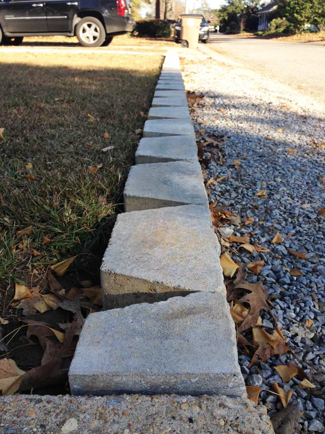How to Build Block Retaining Wall | Checking In With Chelsea