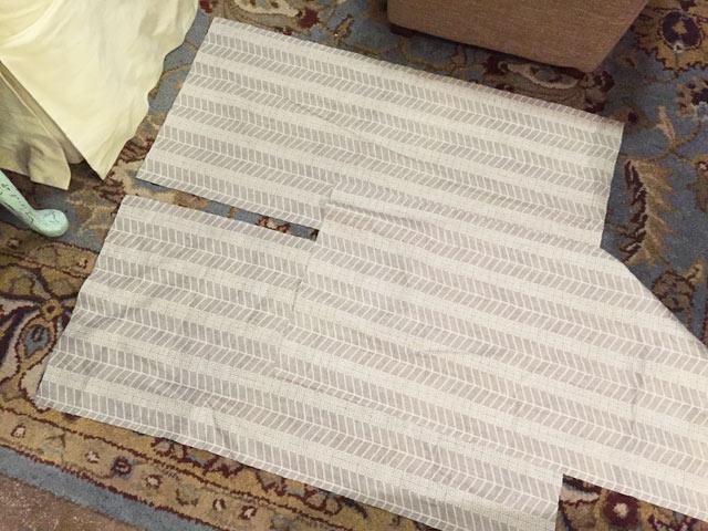 gray greek chevron fabric pattern