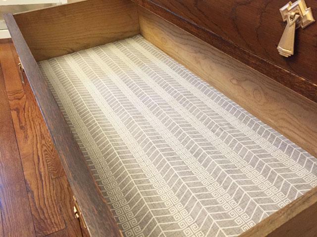 Fabric Dresser Drawer Liner Complete