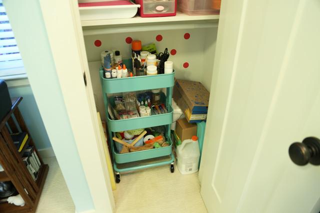 Bottom of Craft Closet-After