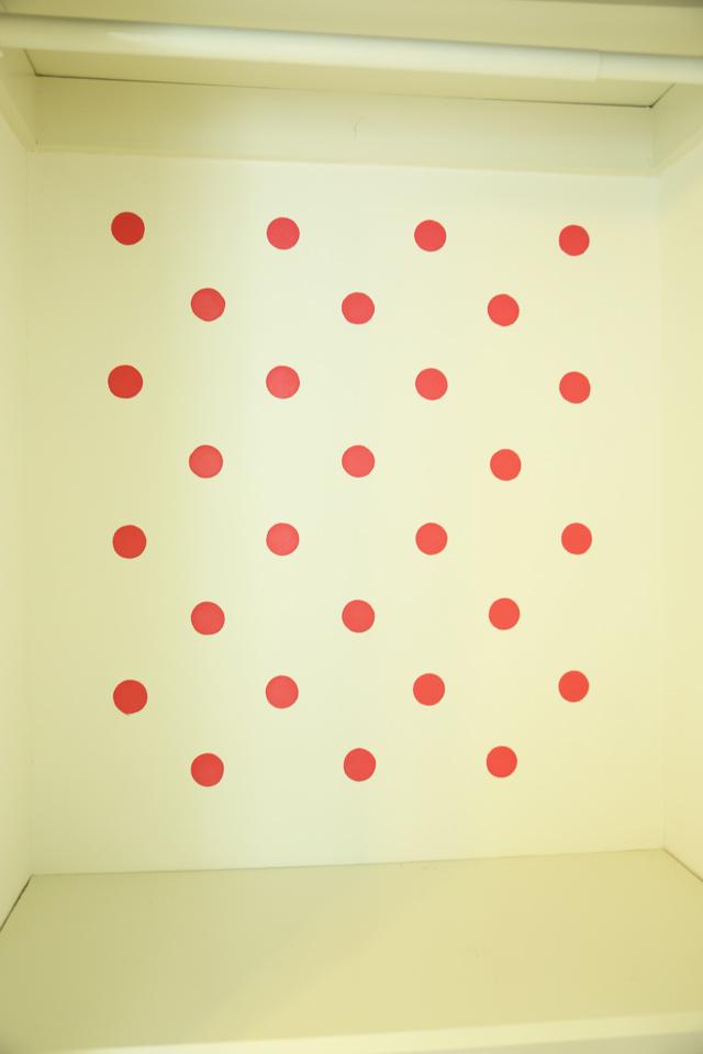 Polka Dots After Second Coat