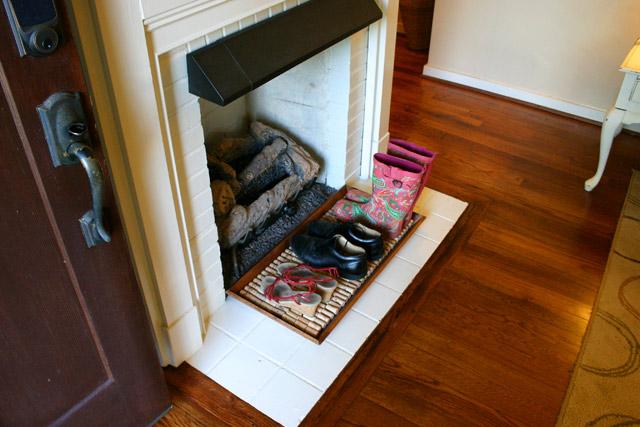 Shoe Tray From Front Door