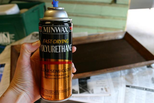 minwax spray polyurethane semi-gloss