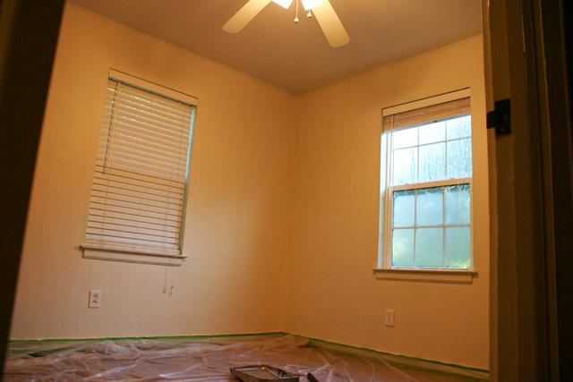 soft spoken by clark+kensington white paint bedroom walls
