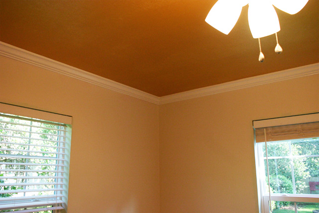 Completed Crown Molding in Nursery