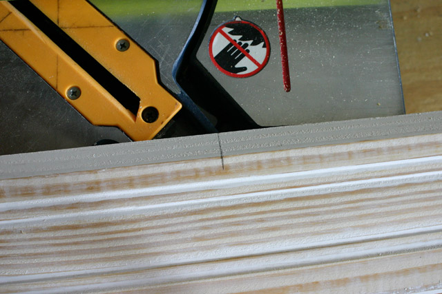 Extending Mark to Line Up on Saw