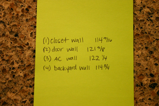 easy way to remember measurements for crown molding key guide on green paper