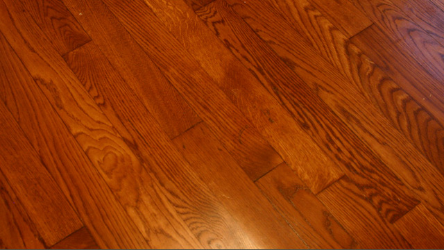 Scratches in Hardwood Floor After Touch-Up